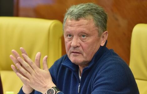 Miron Markevich в федерации футбола украины фото