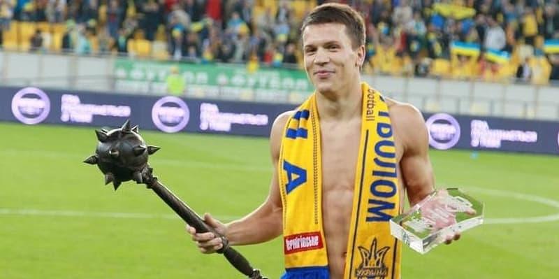 Evgenij в сборной Украине фотография