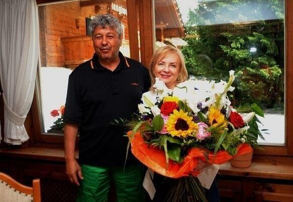 Lucescu с женой Нелли совместное фото