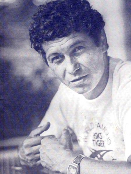 Mircea Lucescu в молодости фото