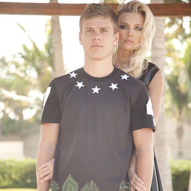 Aleksandr Kokorin со своей девушкой Дарьей фото
