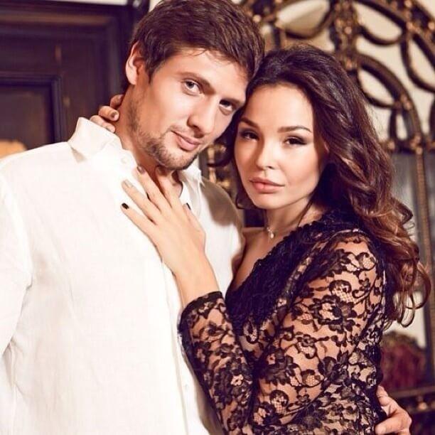 Evgenij со своей женой Аллой совместное фото