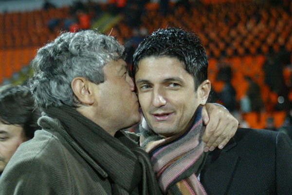 Mircea Lucescu с сыном фотография