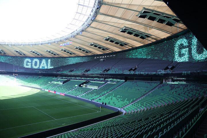 Табло stadiona Krasnodar фотография