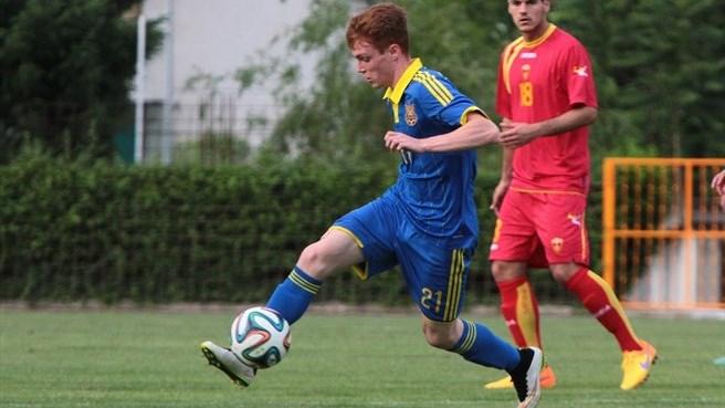 Виктор Цыганков в сборной Украины