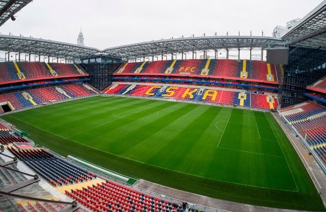 VEB arena stadion CSKA фотография