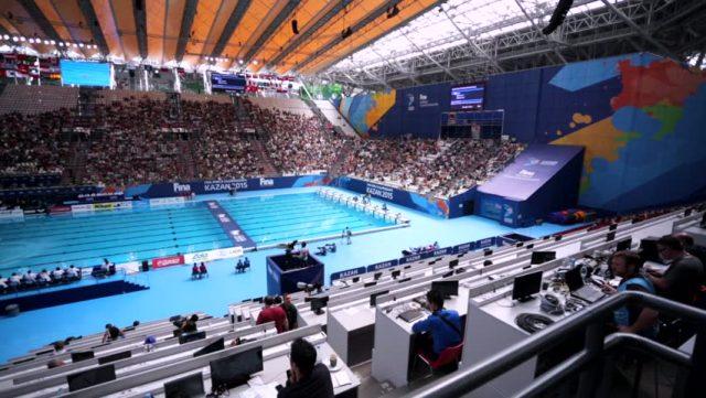 Kazan Arena бассейн фотография