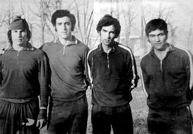 Kurban Berdyev в молодости фото