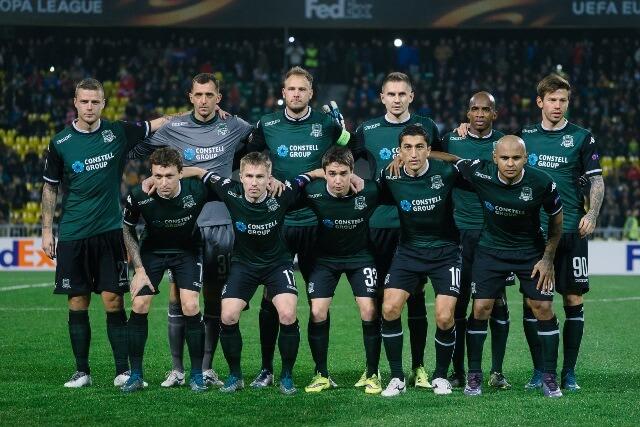 ФК Krasnodar 2015 год фотография коллектива