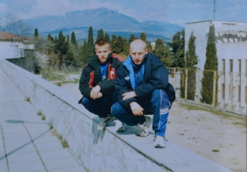 Oleg Gusev в молодости фотография
