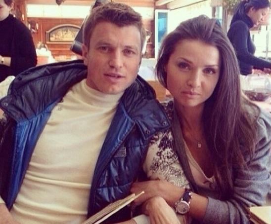 Rotan и его жена Кристина фотография