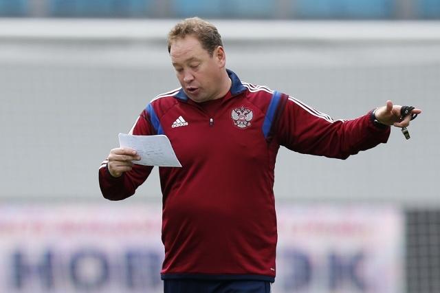 Леонид Слуцкий тренер сборной России
