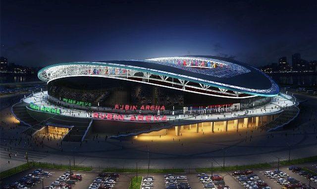 Стадион Казань Арена - фото история