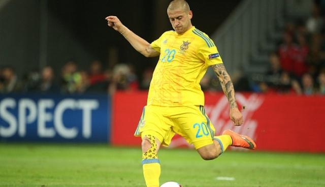 Rakickij в сборной Ukraine фото