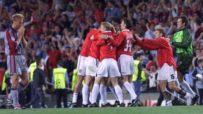 Манчестер Бавария финал 1999