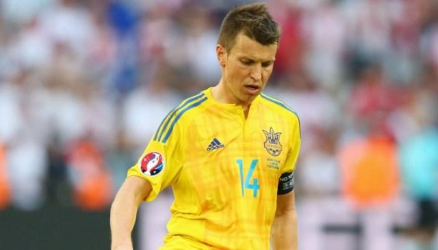 Ruslan Rotan в сборной Украины фото
