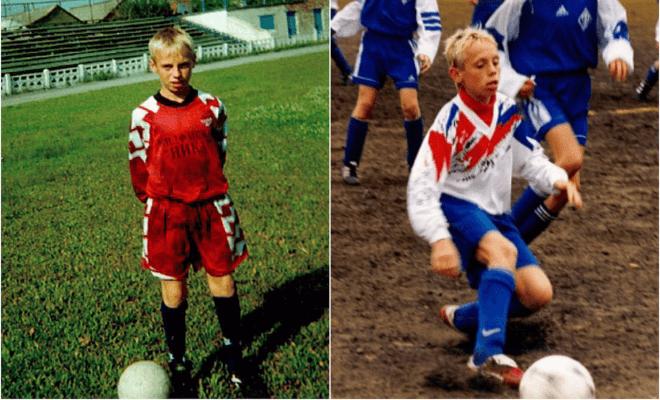Денис Глушаков в молодости