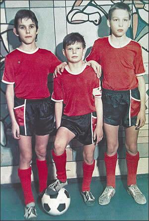 Молодой Андрей Аршавин