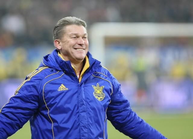 Олег Блохин в сборной