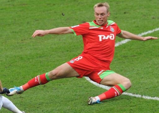 Денис Глушаков в Локомотив Москва