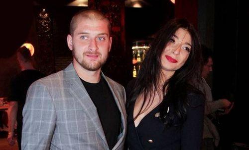 Yaroslav Rakickij с женой Ольгой совместное фото