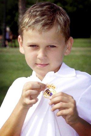 Денис Черышев в Реал Мадрид молодой