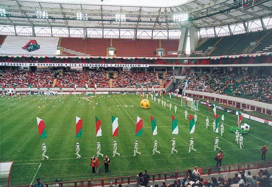 стадион локомотив москва
