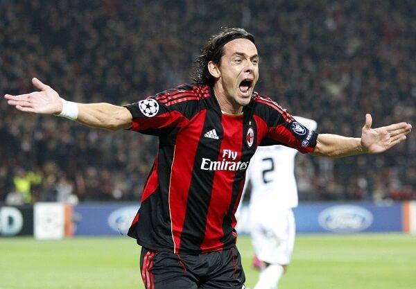 Filippo Inzaghi в Милане фото
