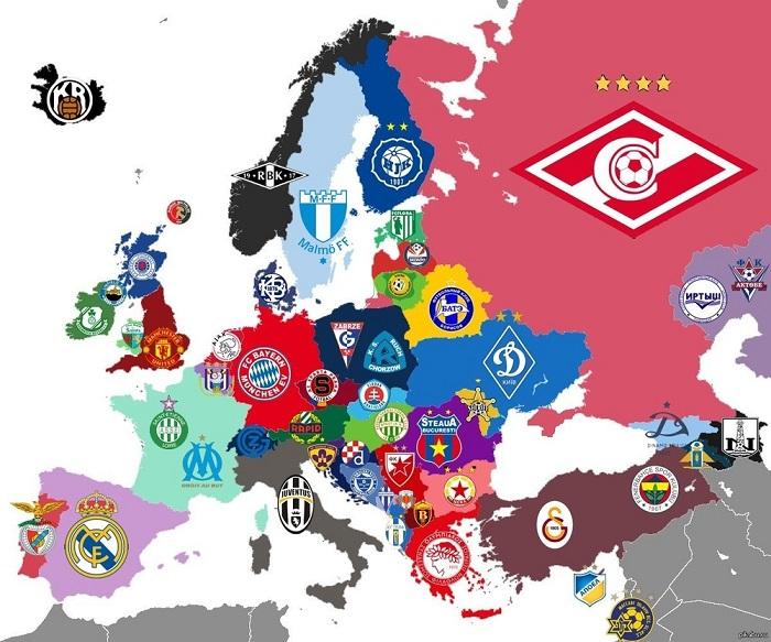 История клубов, футбольные клубы России и Украины - фото
