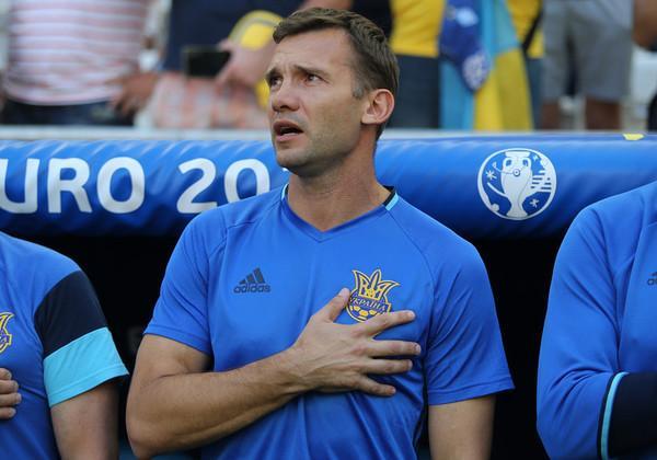 Шевченко главный тренер сборной Украины