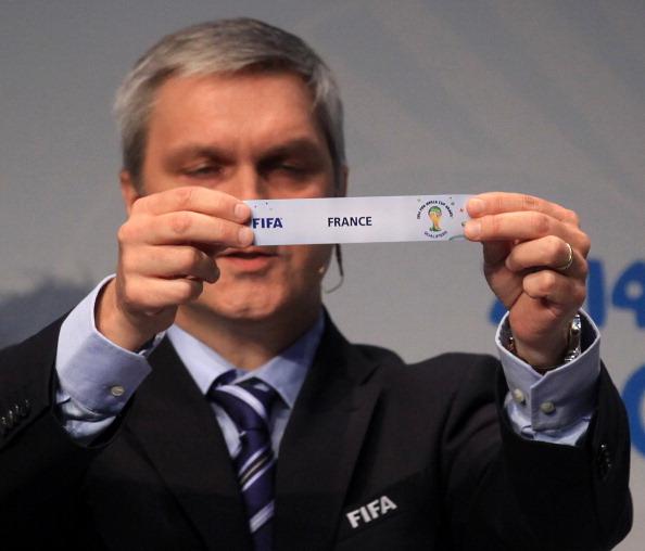 Жеребьевка Плей-офф ЧМ 2014 Украина - Франци