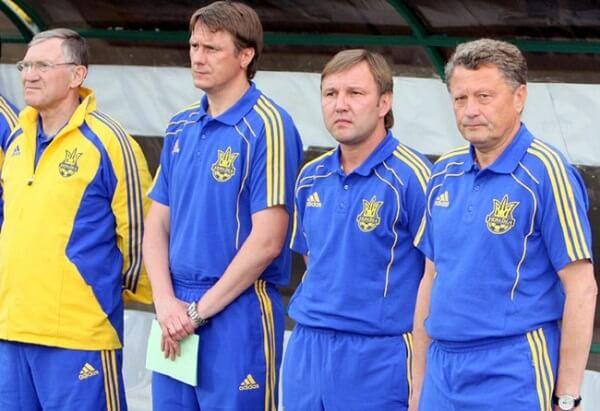 Маркевич в сборной Украины