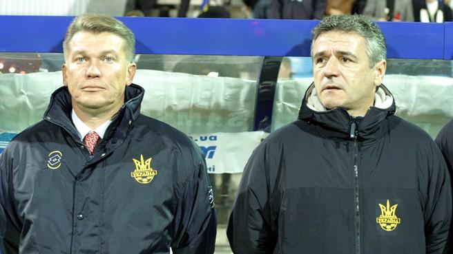 Баль и Блохин в сборной Украины