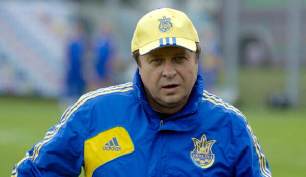 Заваров в сборной Украины
