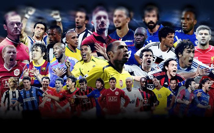 Звезды футбола, легенды футбола, знаменитые футболисты - фото