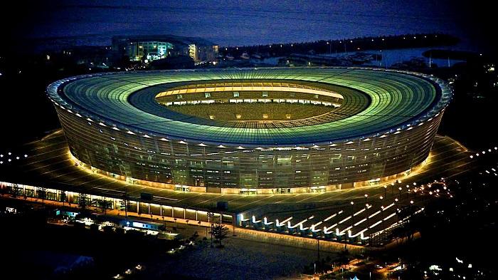 История стадионов, футбольные стадионы России и Украины - фото