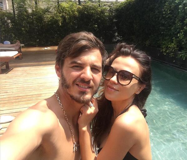 Erokhin и его жена Вероника совместное фото