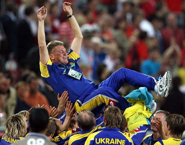 Блохин на Чемпионате Мира 2006