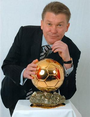 Oleg Blokhin и Золотой Мяч фото