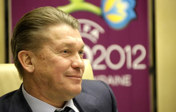 Блохин сборная Украины евро 2012