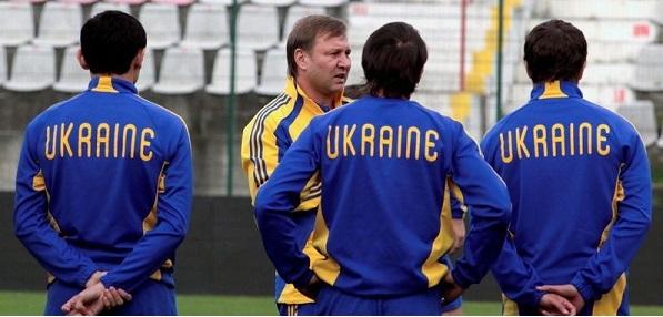 Yuri Kalitvintsev в сборной Украины фотография