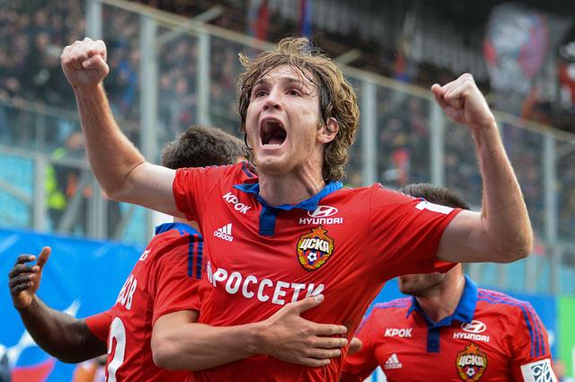 Марио Фернандес в ЦСКА