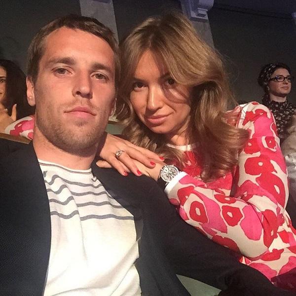 Дмитрий Комбаров с женой Татьяной
