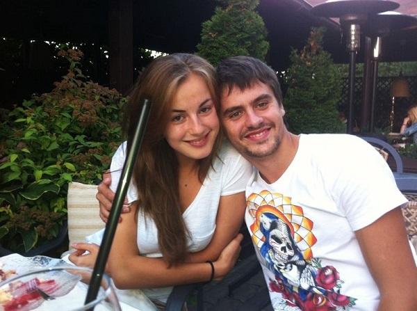 Щенников и жена Диана фото