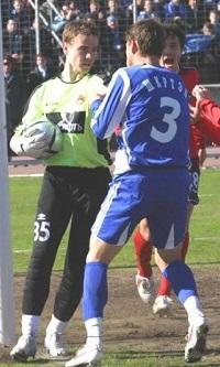 Akinfeev получил красную карточку фото