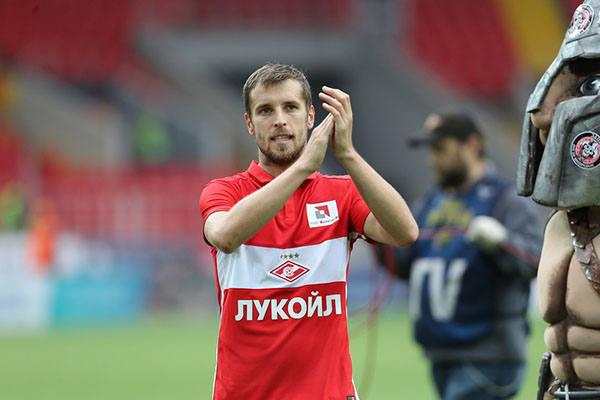 Дмитрий Комбаров в Спартак Москва
