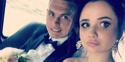 Buyalsky и его жена совместное фото