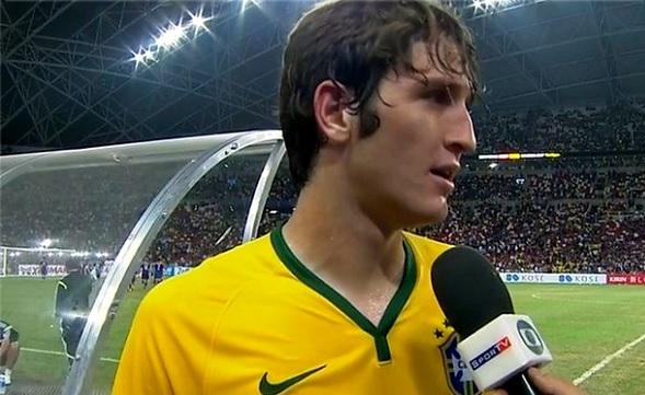 Fernandez в сборной Бразилии фото