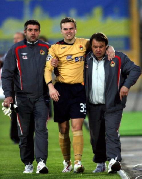 Igor Akinfeev получил травму фото