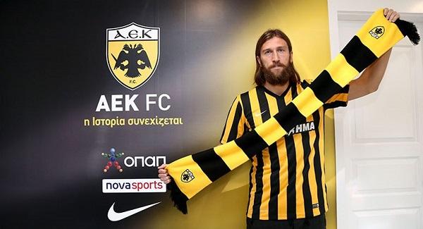 Chigrinsky в ФК АЕКе фото